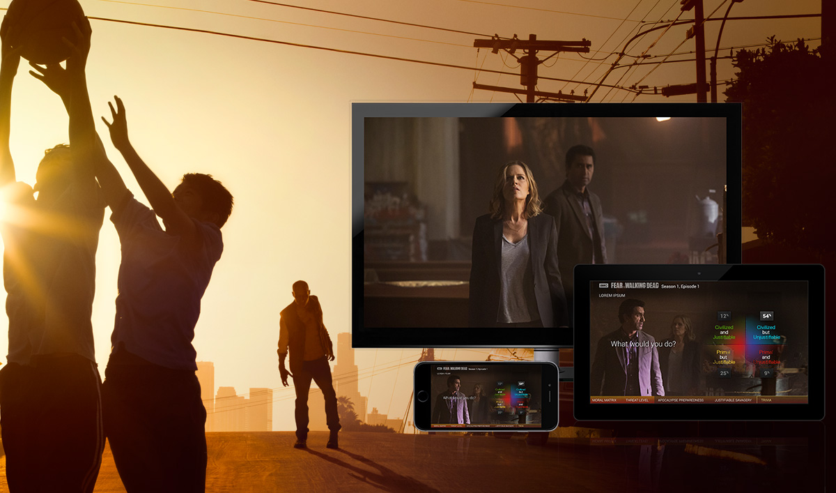 <em>Fear the Walking Dead</em> Story Sync Lets You Interact With the Show While it Airs