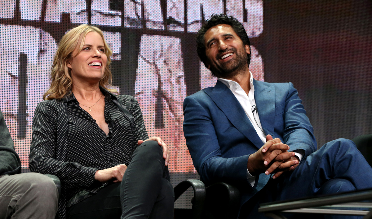 Photos of the Cast and Producers of <em>Fear the Walking Dead</em> at the 2015 TCA Press Tour