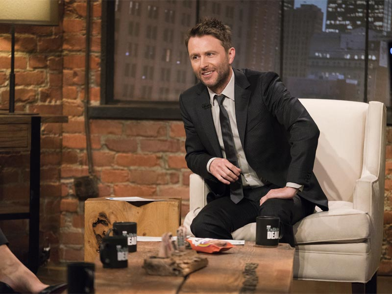 Chris Hardwick - Talking Dead Fear Edition - Photo Credit: Michael Moriatis/AMC