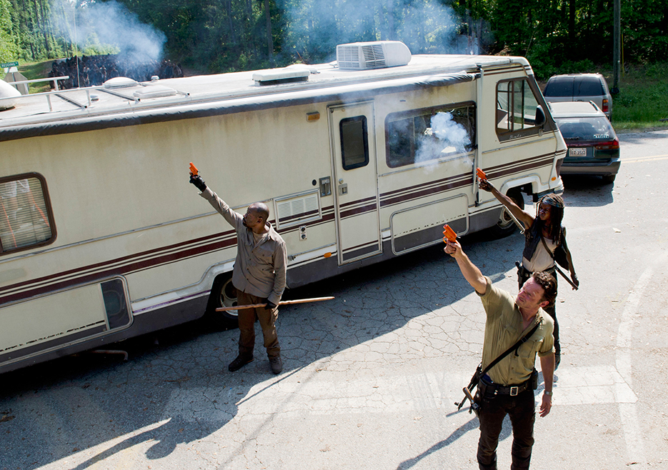 The Walking Dead S06E01