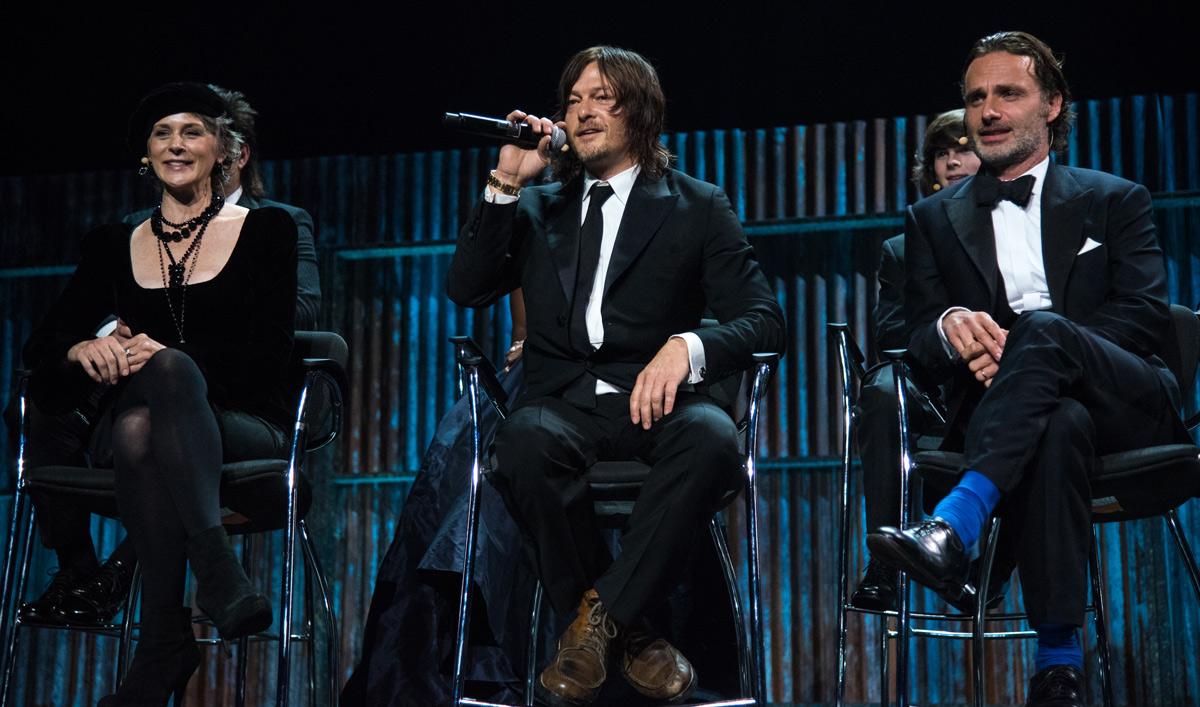 View Video Highlights and Photos From <em>The Walking Dead</em> Season 6 Fan Premiere Event