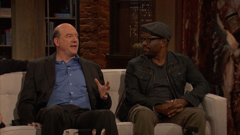 Talking Dead: Highlights: Episode 604: Lennie James and John Carroll Lynch on Tabitha the Goat