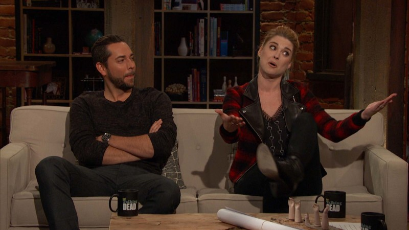 Talking Dead: Highlights: Episode 605: Alexandra Breckenridge on Rick and Jessie