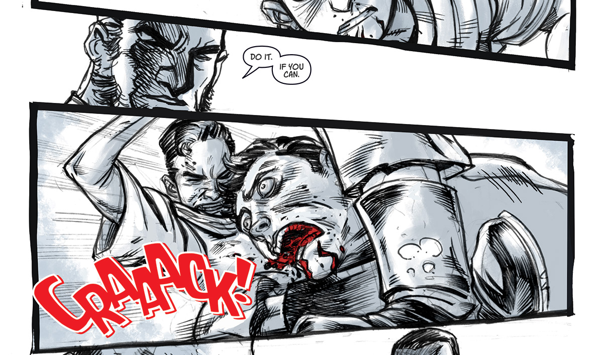 Quinn Gets His First Kill in the <em>Into the Badlands</em> Digital Comic Issue #1 Conclusion