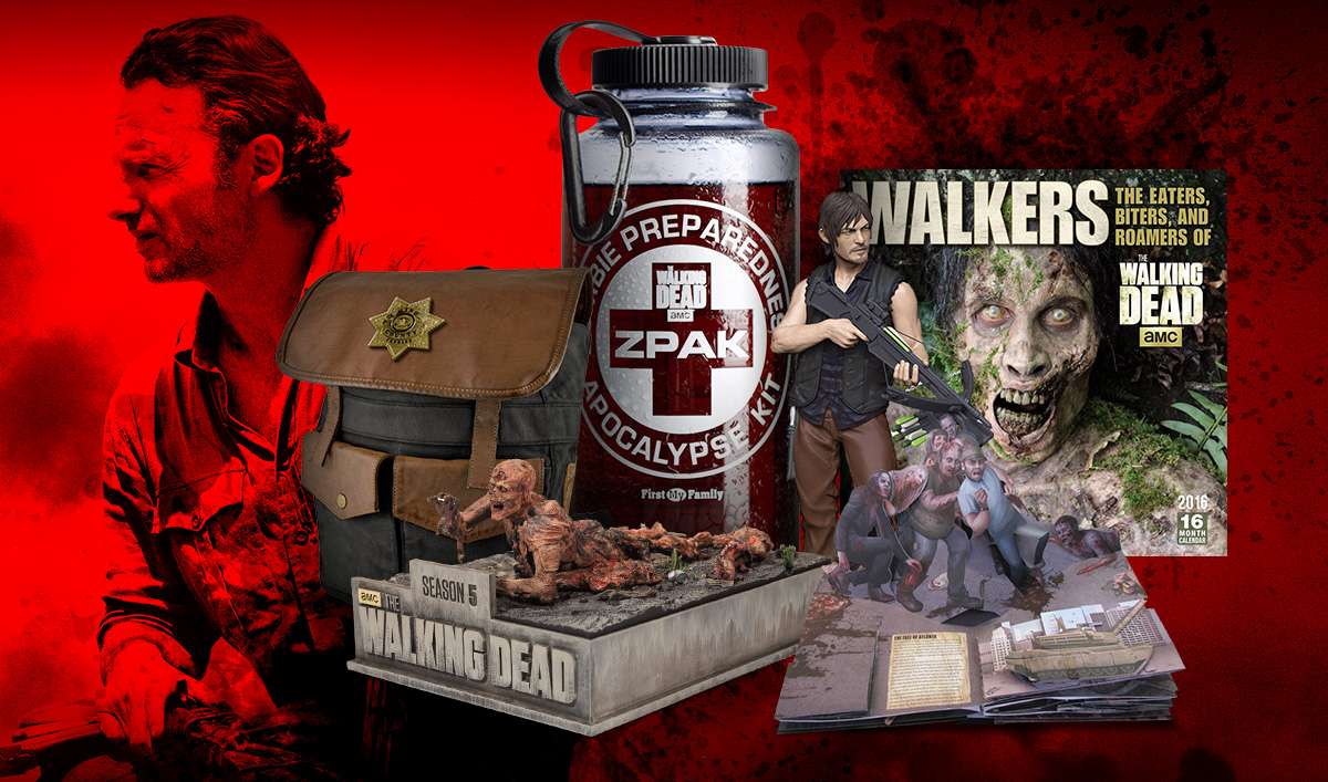 Enter <em>The Walking Dead</em>&#8216;s 12 Days of TWD Giveaway for a Chance to Win a Prize Bundle