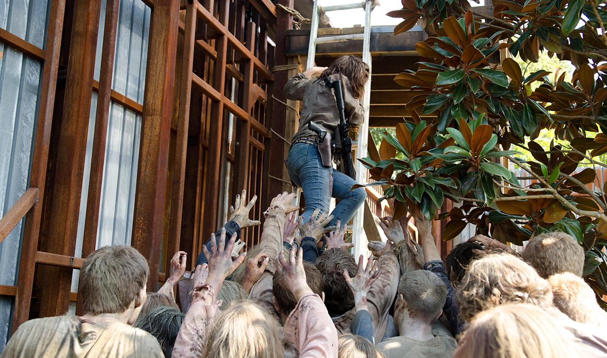 Robert Kirkman Teases Negan's Arrival; Lauren Cohan on Maggie & Glenn