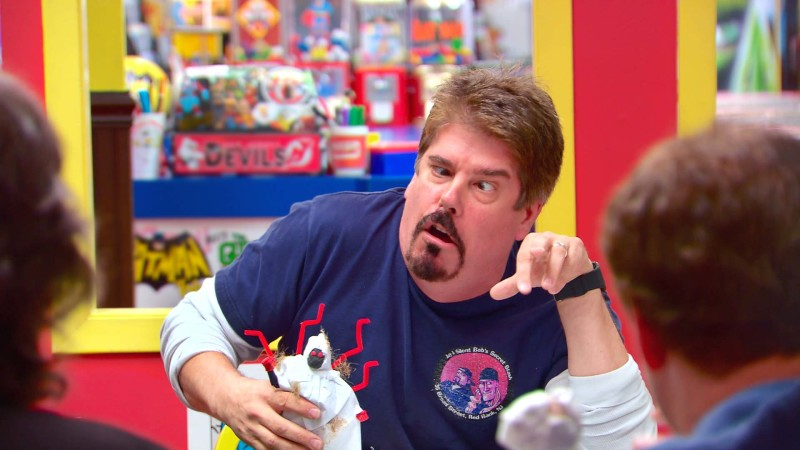 Casting Papa Blood: Talked About Scene: Episode 507: Comic Book Men: Making Clay