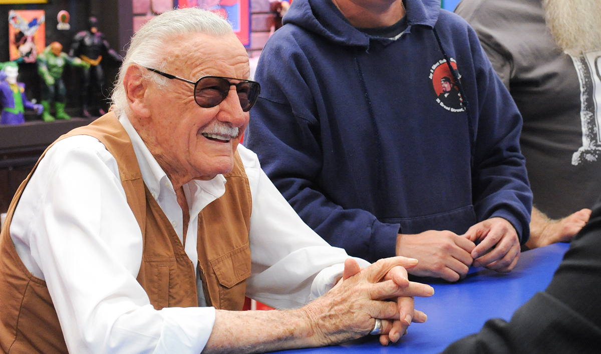 <em>Comic Book Men</em> Q&#038;A &#8211; Stan Lee