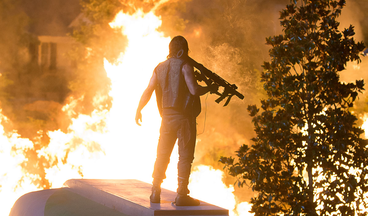 Greg Nicotero Talks Cliffhanger With <em>EW</em>; <em>CNBC</em> Interviews Norman Reedus