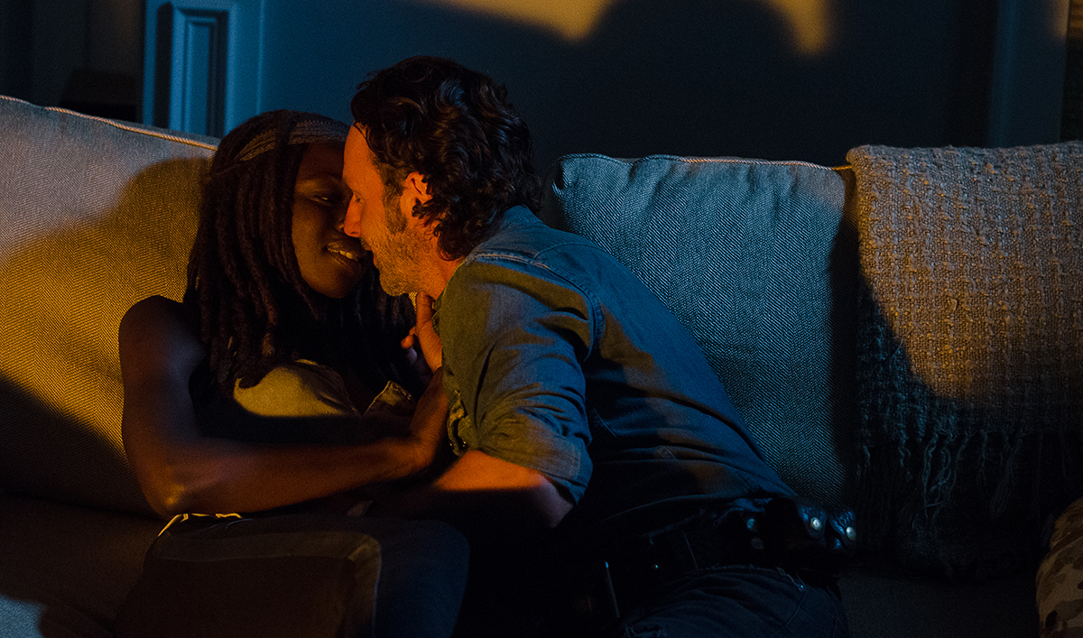 Andrew Lincoln, Danai Gurira Dish on Richonne; Tom Payne on Playing Jesus