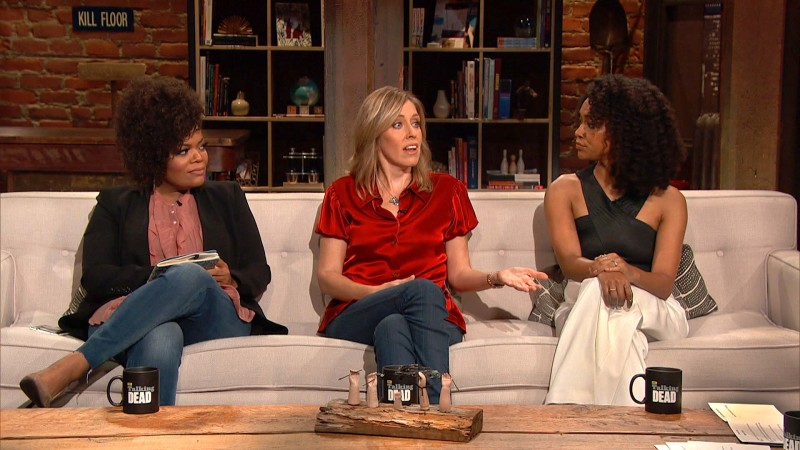 Talking Dead: Highlights: Episode 615: Yvette on Morgan