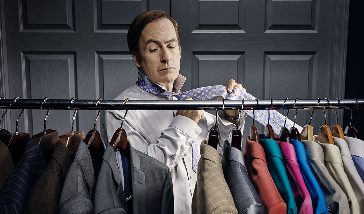 Bob Odenkirk as Jimmy McGill - Better Call Saul _ Season 2, Gallery- Photo Credit:  Ben Leuner/AMC