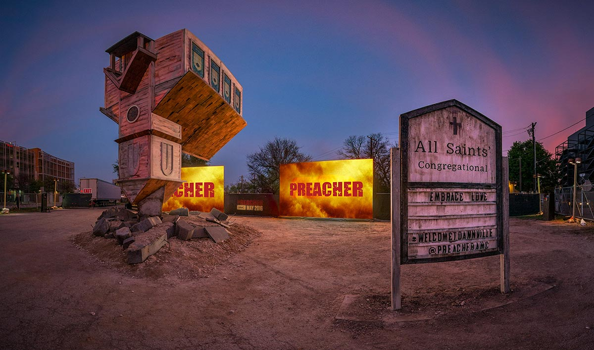 Go Inside the World of <em>Preacher</em> With a Virtual Reality Experience