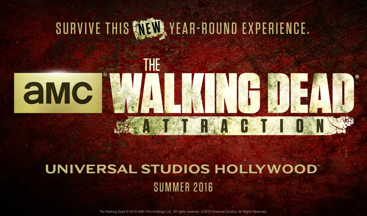 New <em>The Walking Dead</em> Attraction Opening at Universal Studios Hollywood in Summer 2016