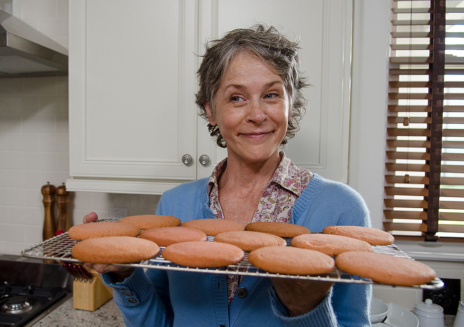 Melissa McBride Talks Carol; Scott Gimple Explains Casting Negan