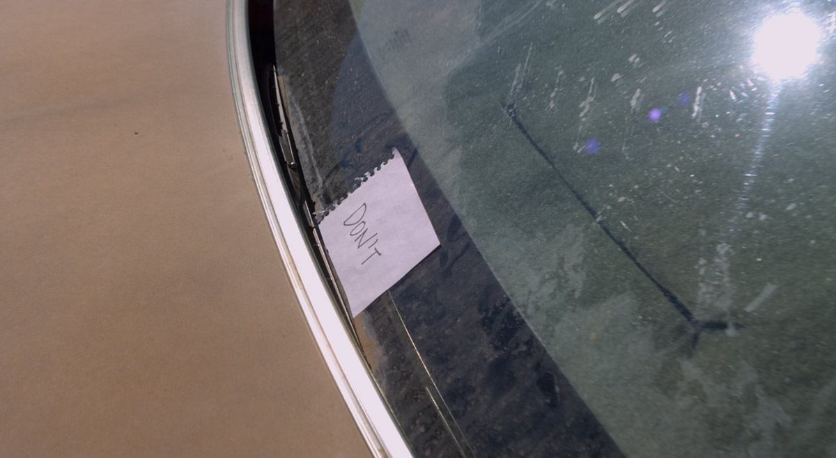 Who Put That Note on Mike's Car?