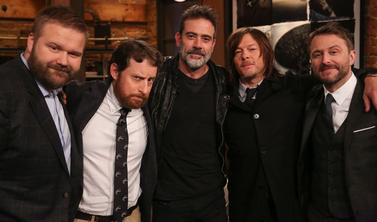 Robert Kirkman on Why Jeffrey Dean Morgan Is the Perfect Negan