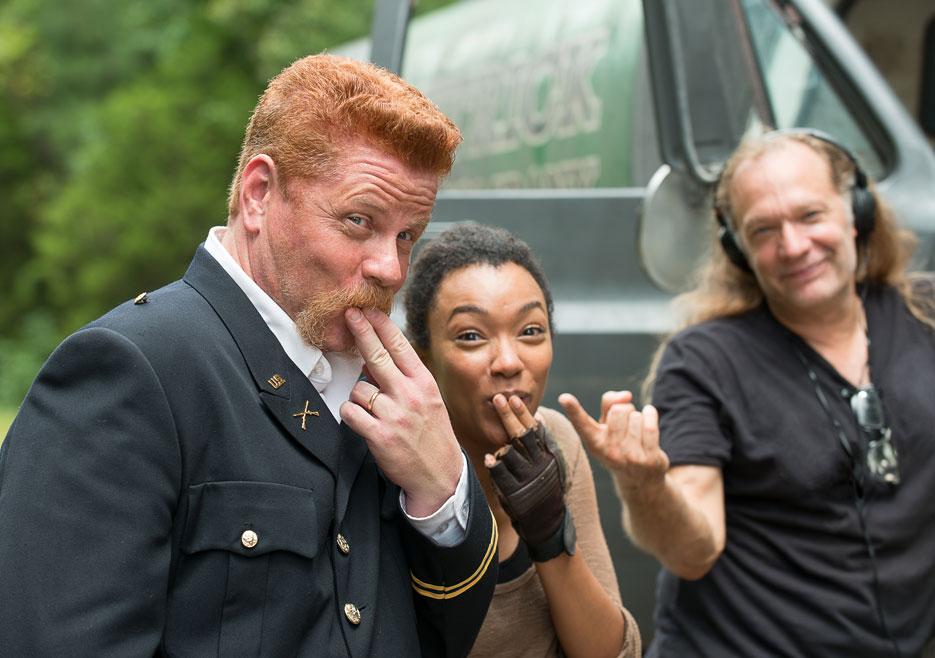 The Walking Dead Season 6 Behind-the-Scenes Photos