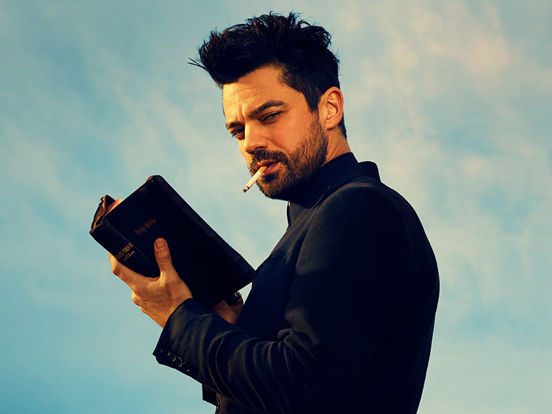 Note to self: DO NOT make that hot for Preacher joke that you totally want to.