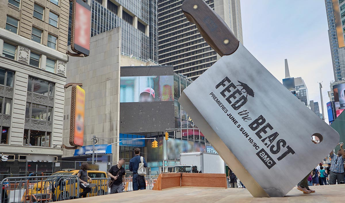 <em>Feed the Beast</em> Is Open for Business in Times Square