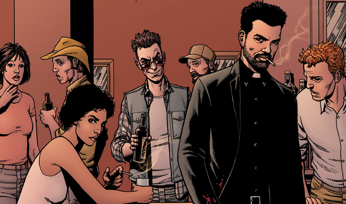 Get a Limited Edition <em>Preacher</em> Reprint With Brand-New Art &#8212; For Free!