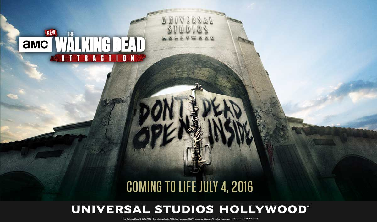 <em>The Walking Dead</em> Attraction Is Coming to Life July 4