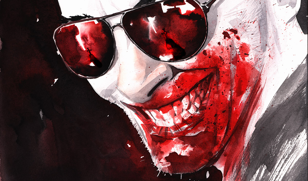 Get a First Look at Dustin Nguyen&#8217;s Bloody Awesome <em>Preacher</em> Cover