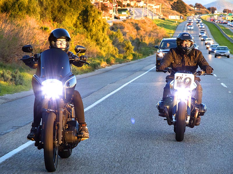 Norman Reedus riding with Imogen Lehtonen, California, February 2-4, 2016 - The Ride with Norman Reedus _ Season 1, Episode 1 - Photo Credit: Mark Schafer/AMC