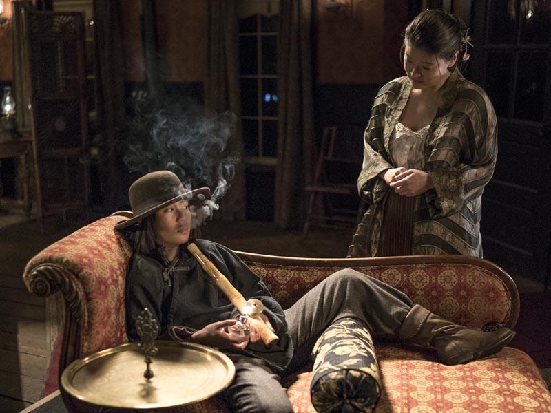 Angela Zhou as Fong- Hell on Wheels _ Season 5, Episode 9 - Photo Credit: Michelle Faye/AMC