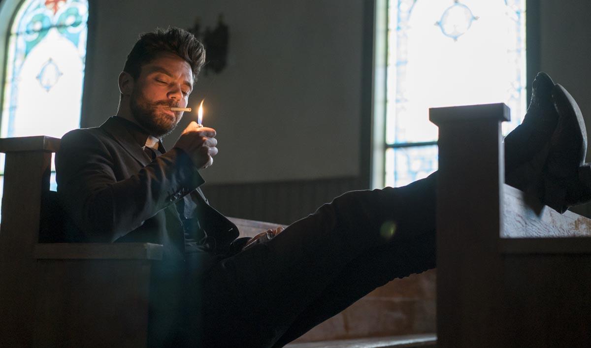 Hallelujah! AMC to Air <em>Preacher</em> Marathon With Behind-the-Scenes Extras