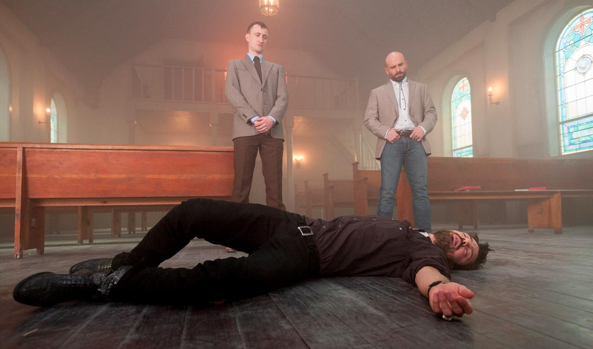 <em>Preacher</em> Cast and Creators on Jesse Adjusting to His New Power