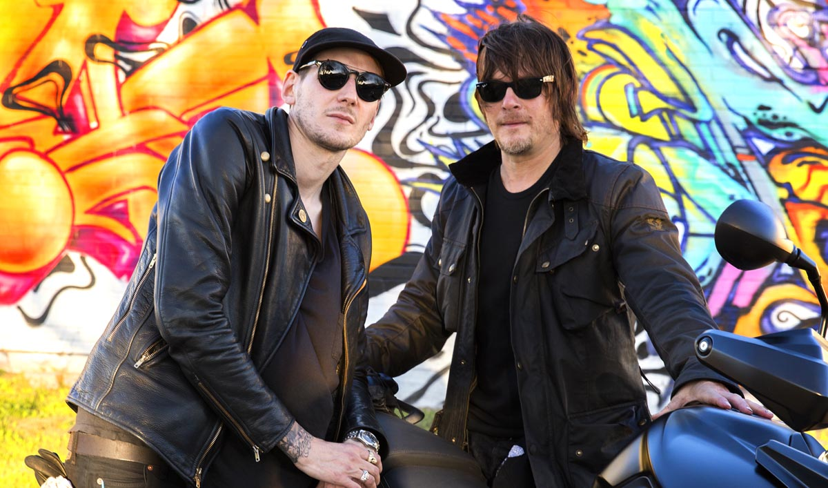 Norman Reedus riding with Jake Lamagno, Texas, March 1-3, 2016 - The Ride with Norman Reedus _ Season 1, Episode 4 - Photo Credit: Mark Schafer/AMC