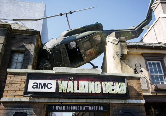 The Walking Dead at Universal Studios Hollywood 2016
