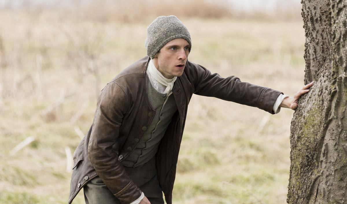 Jamie Bell as Abe Woodhull - TURN: Washington's Spies _ Season 3, Episode 9 - Photo Credit: Antony Platt/AMC