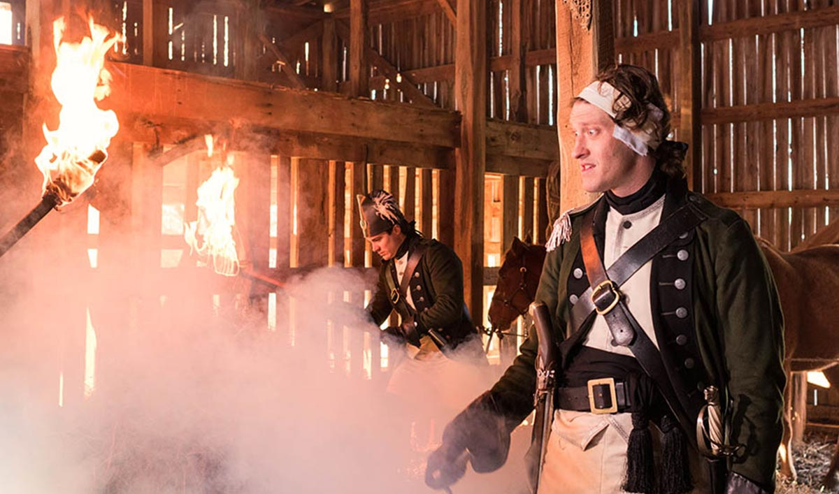 <em>EW</em> on Alexander Hamilton Joining <em>TURN</em>; <em>TV Fanatic</em> Touts JJ Feild