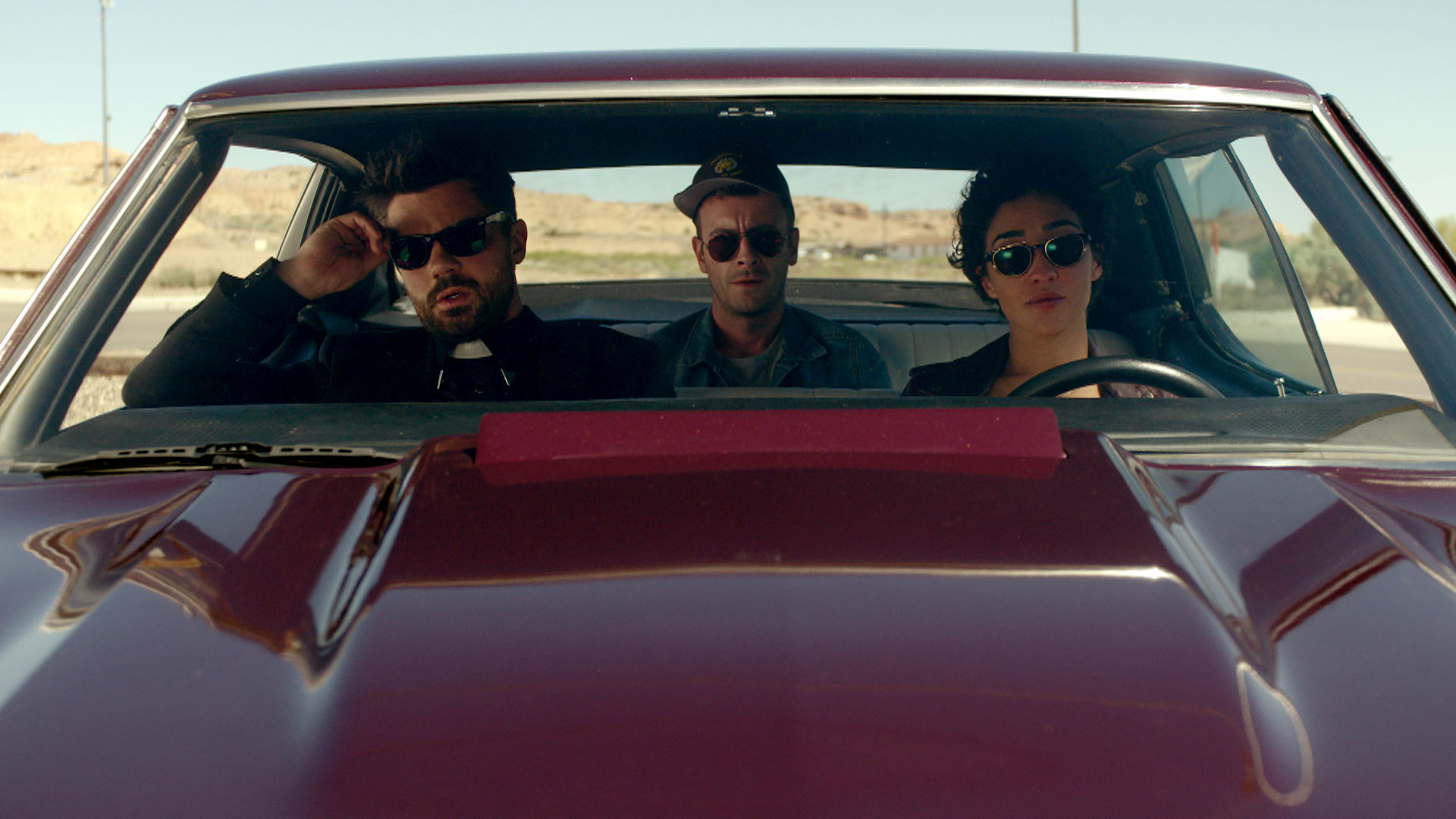 Watch the Official <em>Preacher</em> Comic-Con Trailer