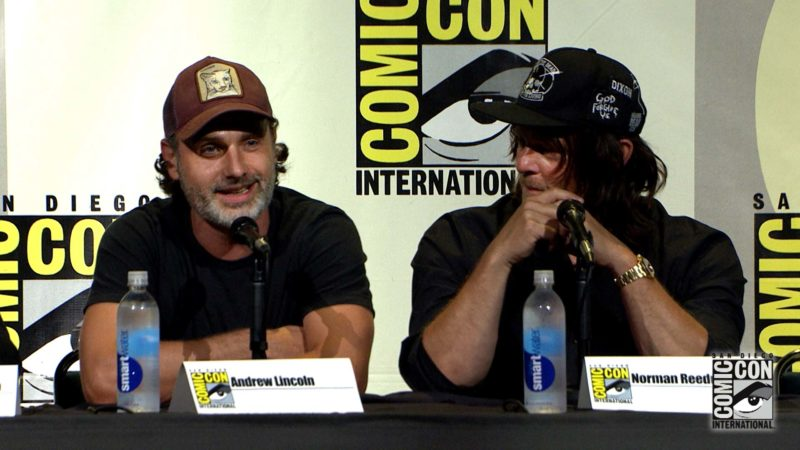 Acting Notes: Comic-Con Panel Highlights: The Walking Dead: Season 7