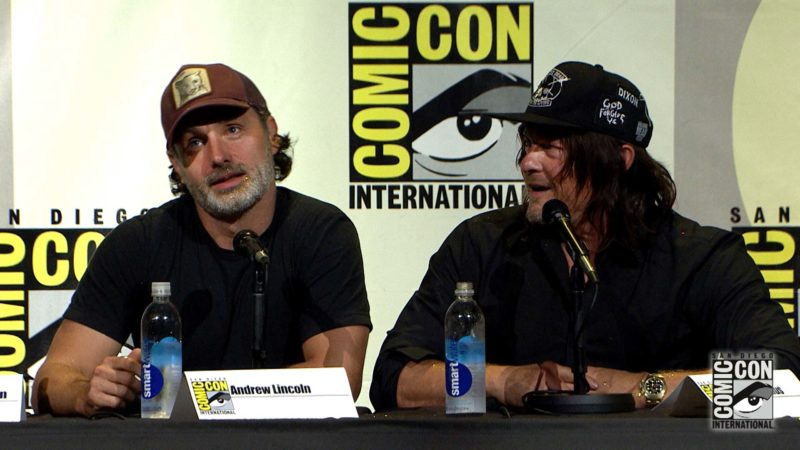 Throw in a Rocket Launcher: Comic-Con Panel Highlights: The Walking Dead: Season 7
