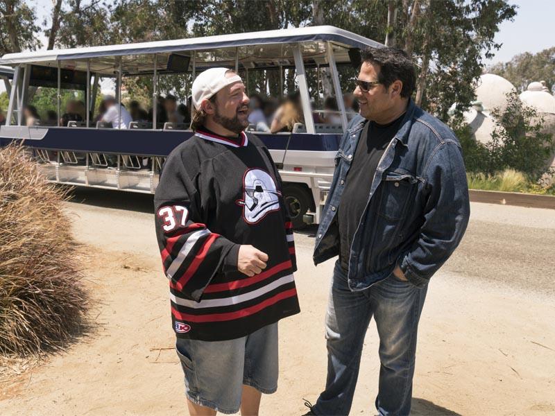 Kevin Smith, Greg Grunberg - Geeking Out _ Season 1 - Photo Credit: Michael Moriatis/AMC
