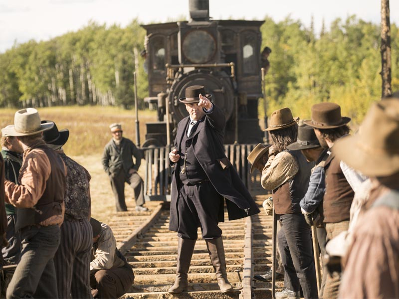 Colm Meany as Thomas 'Doc' Durant - Hell on Wheels _ Season 5, Episode 13 - Photo Credit: Chris Large/AMC