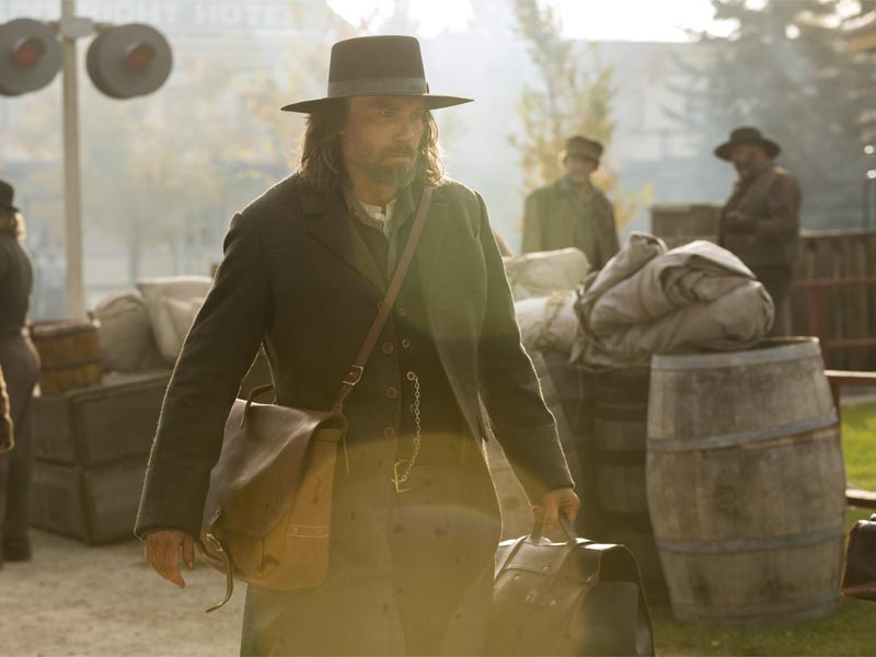 Anson Mount as Cullen Bohannon - Hell on Wheels _ Season 5, Episode 14 - Photo Credit: Michelle Faye/AMC