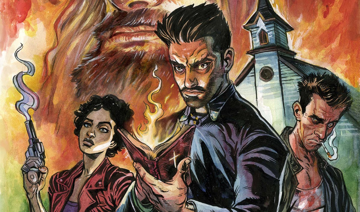 New <em>Preacher</em> Comic Cover Reveals a Dark Power Emerging
