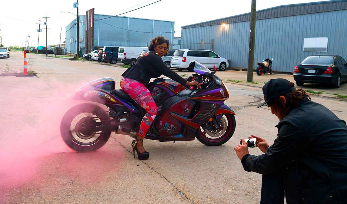 Sneak Peek – Norman Visits Caramel Curves, a Louisiana All-Female Biker Group