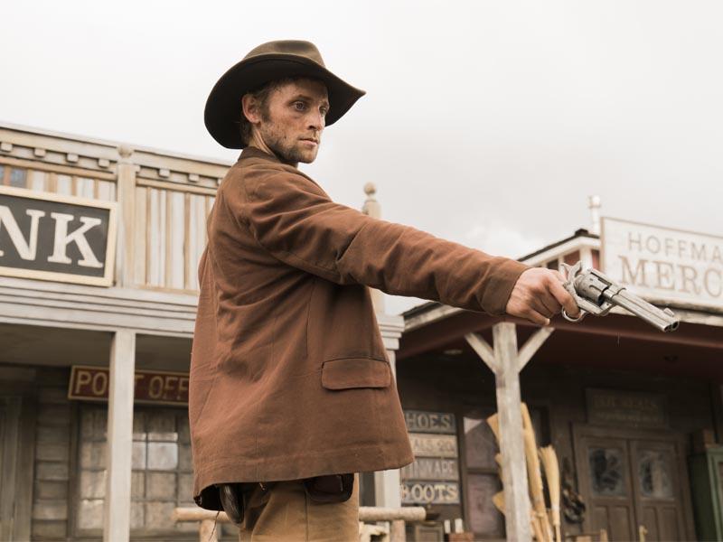 Derek Chariton as Billy the Kid - The American West _ Season 1, Episode 6 - Photo Credit: Michael Moriatis/AMC
