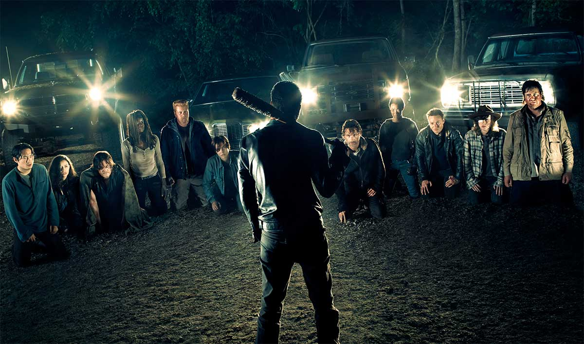 Get Your First Clues About Season 7 With <em>The Walking Dead</em> Comic-Con 2016 Poster
