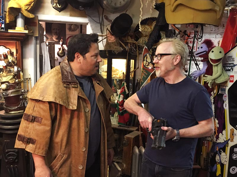 Adam Savage, Greg Grunberg - Geeking Out _ Season 1 - Photo Credit: AMC