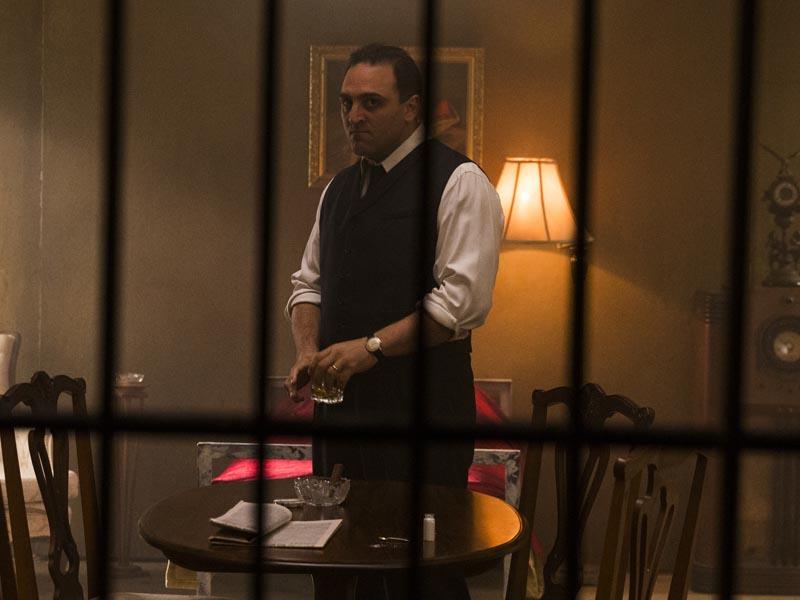 Michael Kotsohilis as Al Capone - Making of the Mob: Chicago _ Season 2, Episode 5 -- Photo Credit: Richard Brimer/AMC