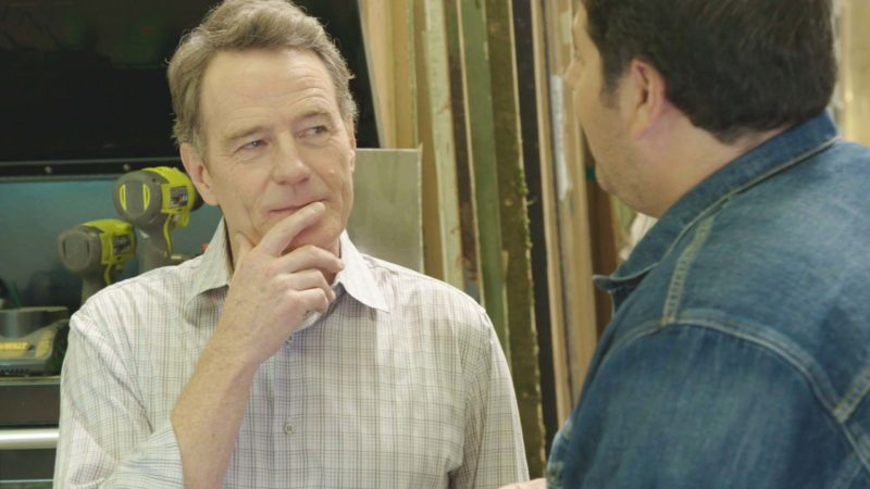 Geeking Out Sneak Peek: Bryan Cranston