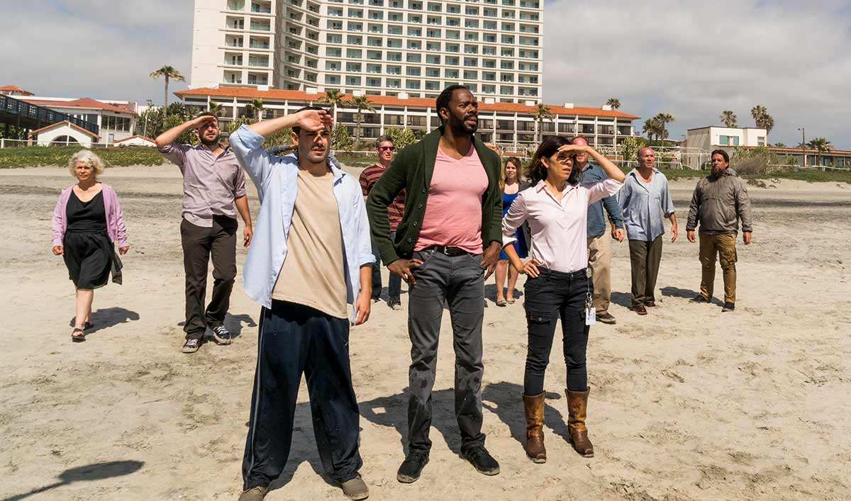 The Cast and Crew on Why the Survivors and Hotel Guests Team Up