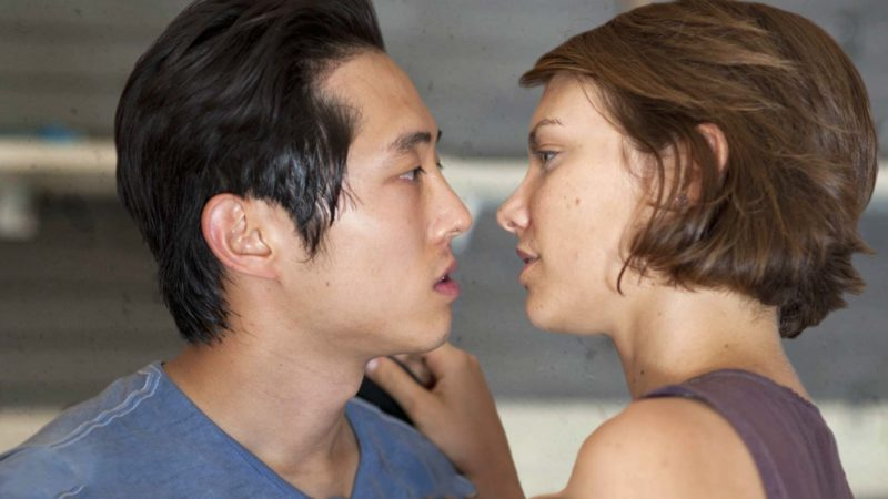 The Walking Dead: The Journey So Far: Glenn and Maggie Meet